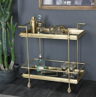 BEST DRINKS TROLLEYS AND BAR CARTS FOR CHRISTMAS