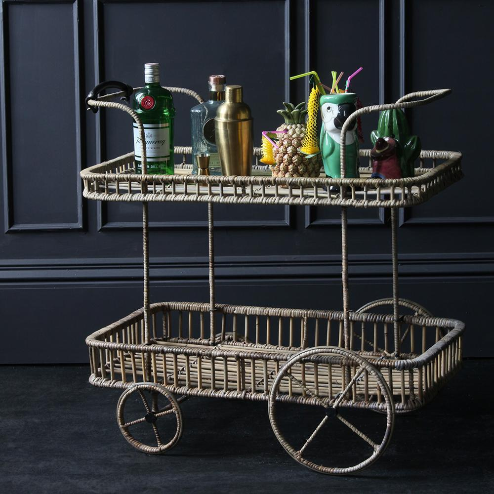 How to Style a Drinks Trolley for the Ultimate Summer Cocktail Party