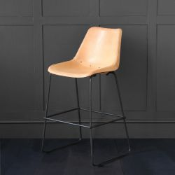 Deluxe Road House Bar Stool, Honey, 67 cm