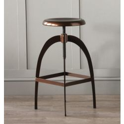 Rocket Industrial Bar Stool