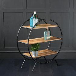 Circle Shelf - Round Shelf Unit / Room Divider (Small) 80cm