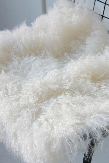 Mongolian Fur Seat Pad