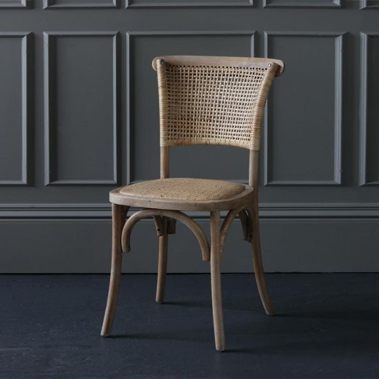 French Wicker Chair