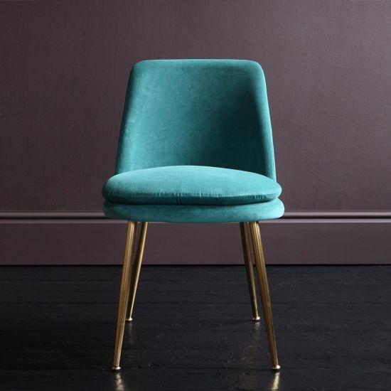 Chelsea Velvet Dining Chair