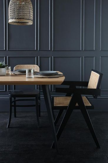 Solent Dining Table Natural Wood Kitchen Furniture 160 x 90 x 76 cm