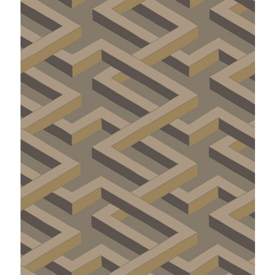 Cole & Son Geometric II Wallpaper, Luxor