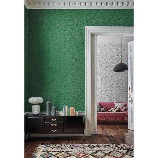Cole & Son Fornasetti Wallpaper, Malachite