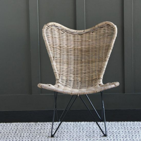 Rattan Butterfly Chair (Small)