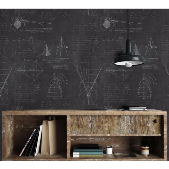 Mind The Gap Newton Geometry Wallpaper