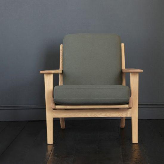 Hans Wegner Style GE 290 Armchair