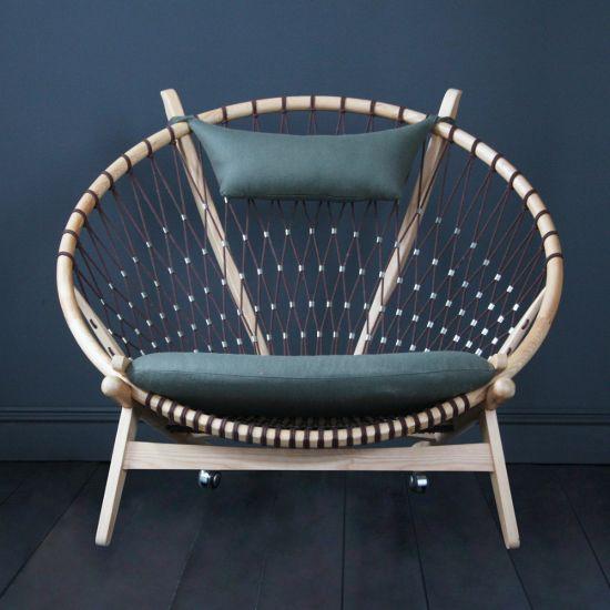 Hans Wegner Style Circle / Hoop Chair