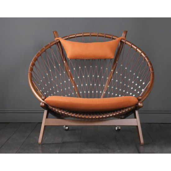 Hans Wegner Style Circle / Hoop Chair