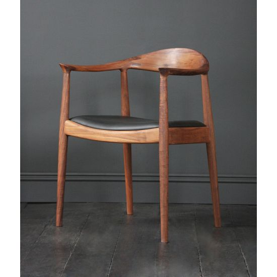 Hans Wegner Style Kennedy Chair in American Walnut