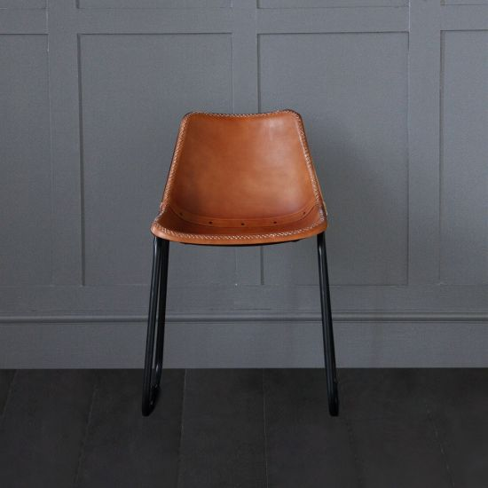 Road House dining Chair : Tan Seat
