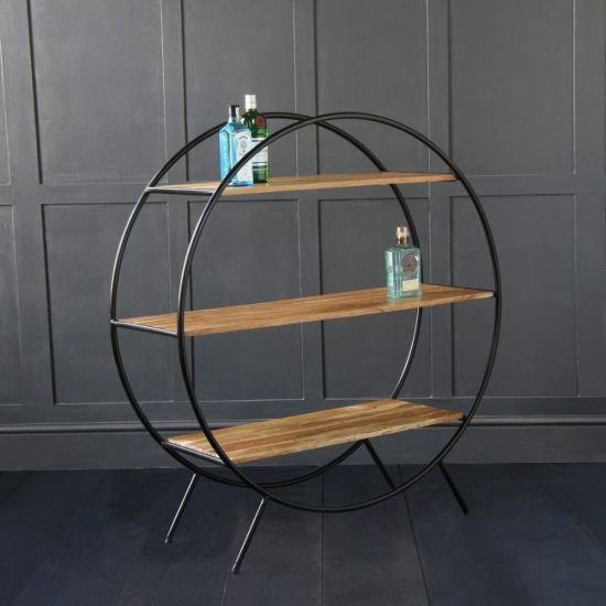 Circle Shelf - Round Shelf Unit / Room Divider