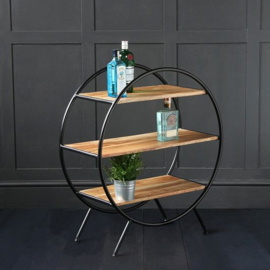 Circle Shelf - Round Shelf Unit / Room Divider (Small) 80cm