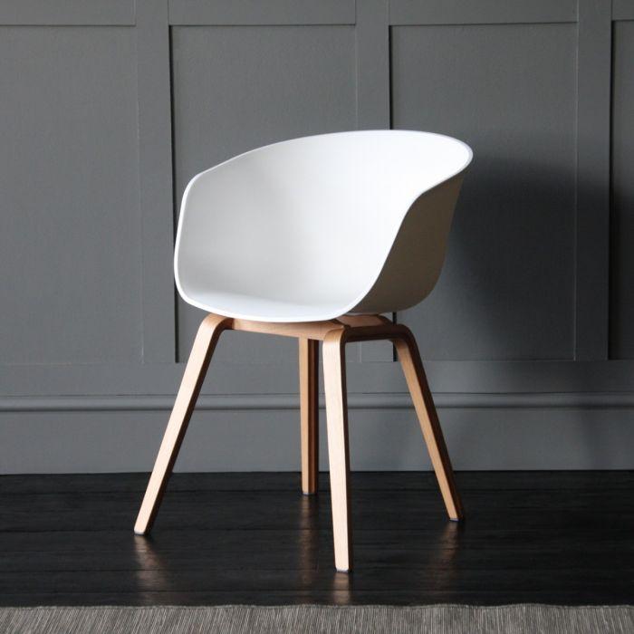 Astonishing Portobello Scandinavian Nordic Style Tub Dining Chair White Theyellowbook Wood Chair Design Ideas Theyellowbookinfo