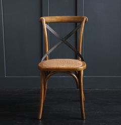 French Cross Chair