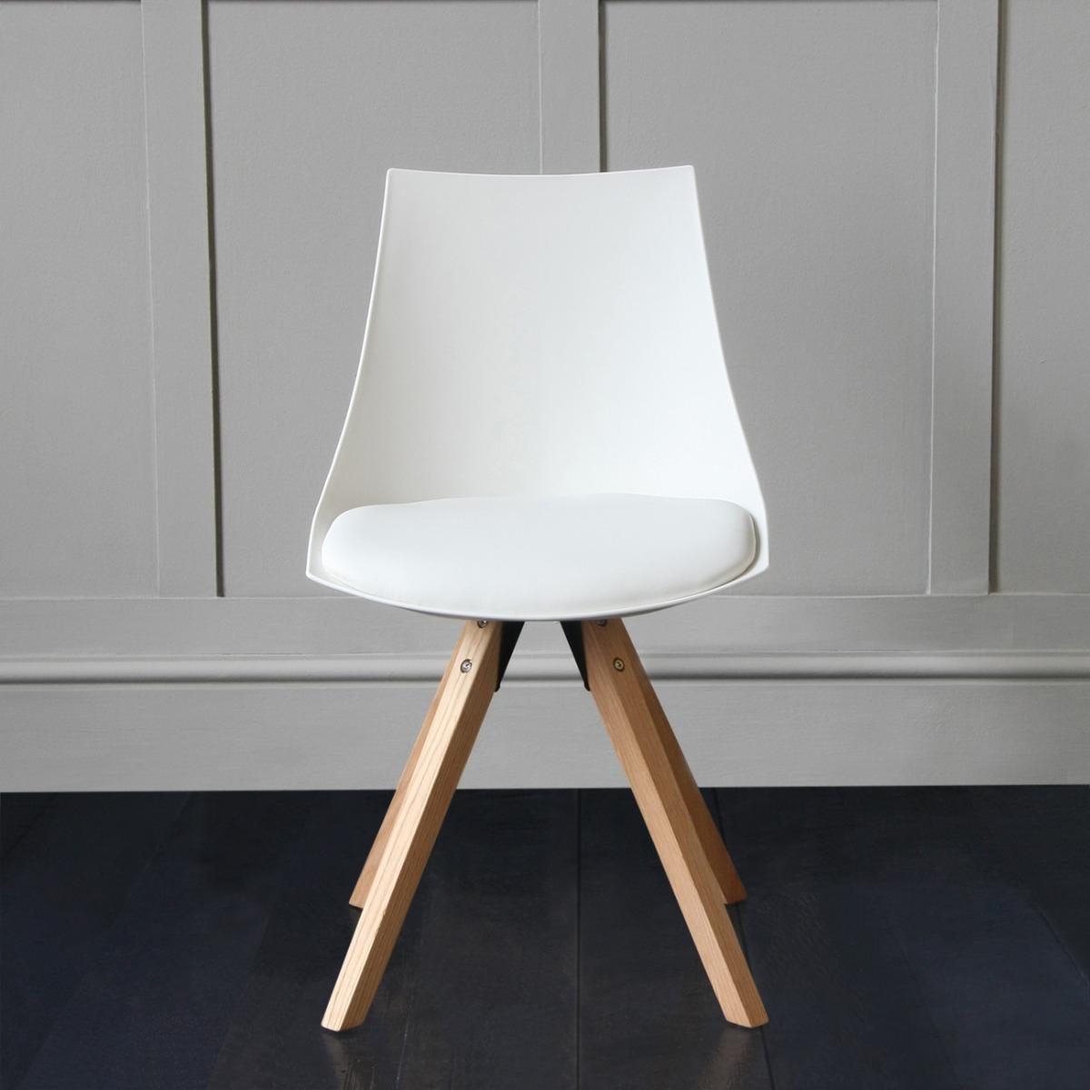 Jamie Tulip Designer Chair With Straight Back