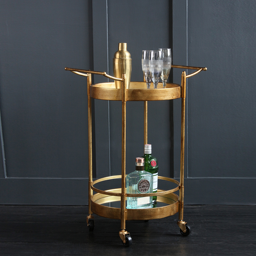 Our Antoine Trolley is perfect for an Art Deco inspired cocktail party.