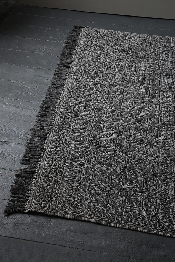 Cotton rugs are great for summer thanks to their breathable nature.