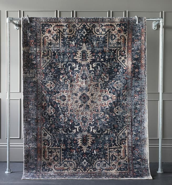 Oriental designs are a great option when choosing rugs.