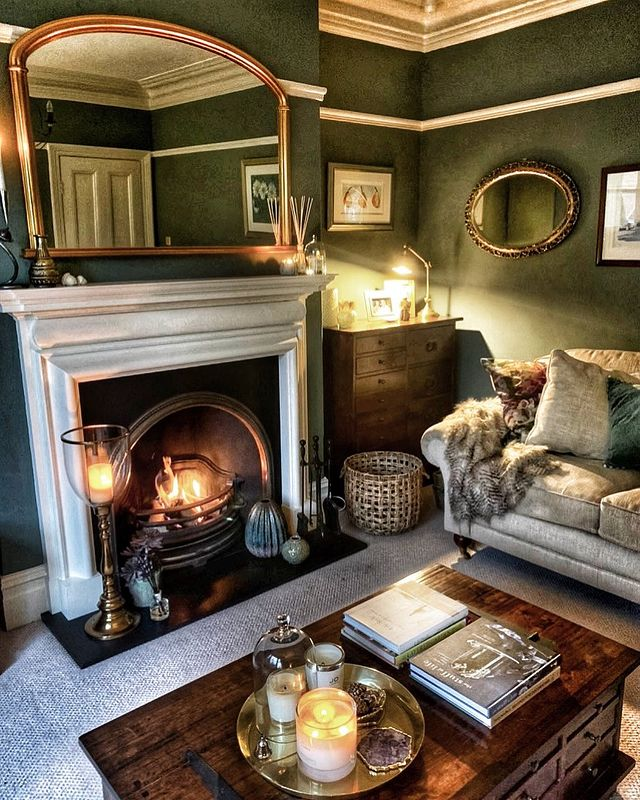 Check out the cosy living room!