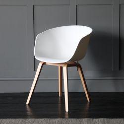 Portobello Scandinavian / Nordic Style Tub Dining Chair, White