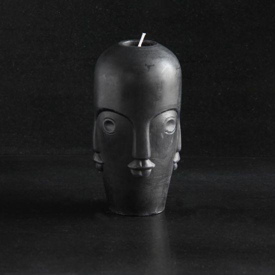 Tozi Small Head Candle Multi Face Design