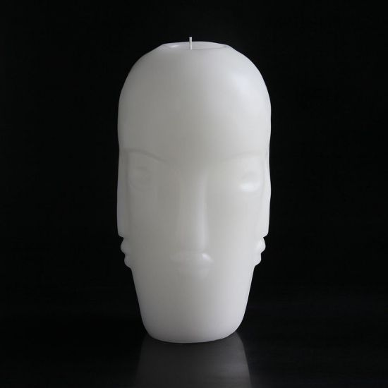 Tozi large Head Candle Multi Face Design