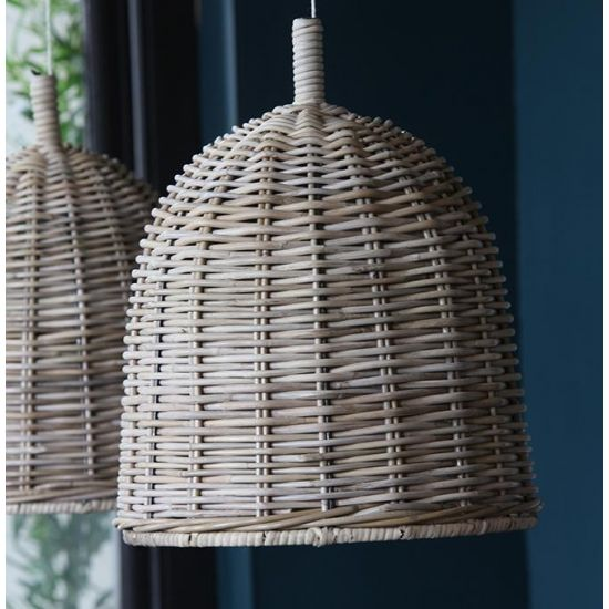 Rattan Ceiling Pendant Lamp Shade 35 cm