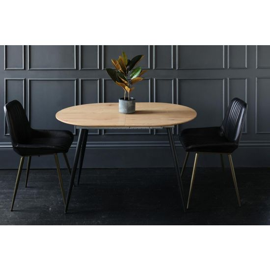 Oxford Dining Table Natural Wood