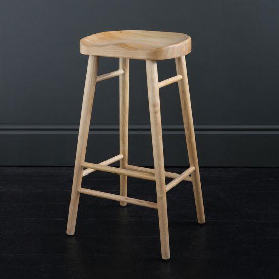 Shaker Bar Stool, Ash, 76 cm
