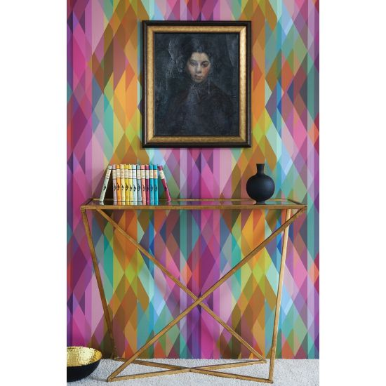 Cole & Son Geometric II Wallpaper, Prism