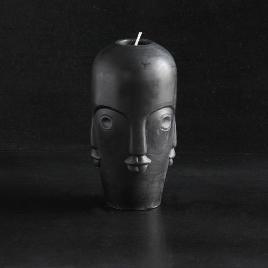 Tozi Small Head Candle Multi Face Design