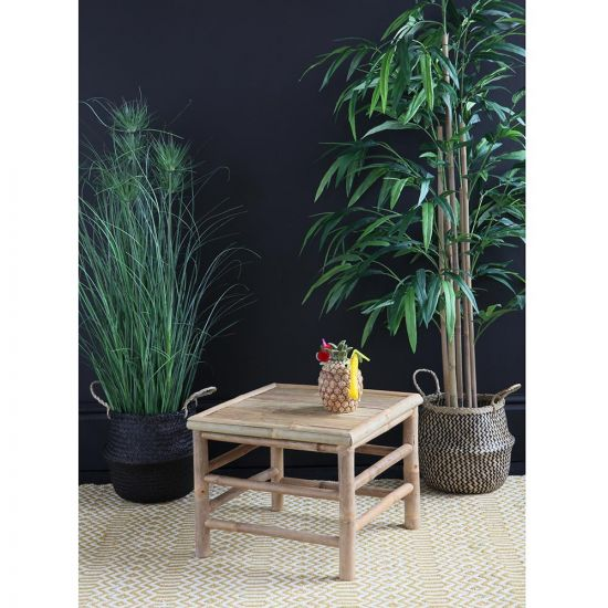 THE BAMBOO SIDE TABLE 37 CM HEIGHT
