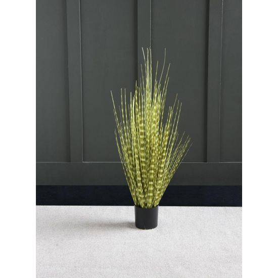 GRASS ARTIFICIAL PLANT TREE 90 CM IN FOOTED IN PLASTIC POT