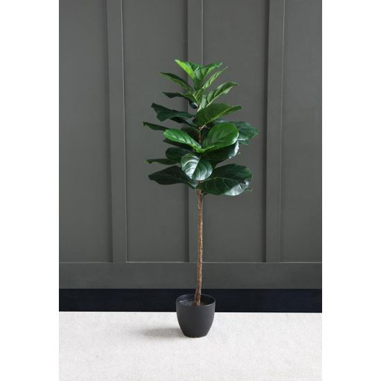 FIDDLELEAF FIG ARTIFICIAL PLANT TREE 125 CM