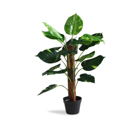 DIEFFENBACHIA ARTIFICIAL ON POLE PLANT TREE 80 CM