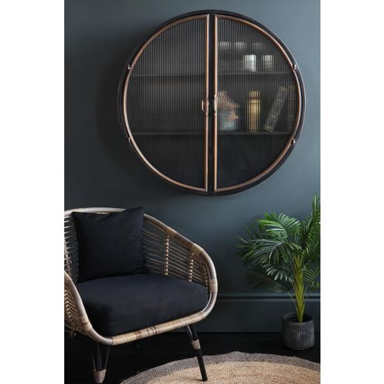 Hudson Round Wall Cabinet