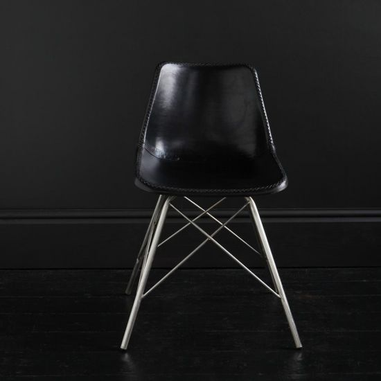 Cross Leg Dining Chair