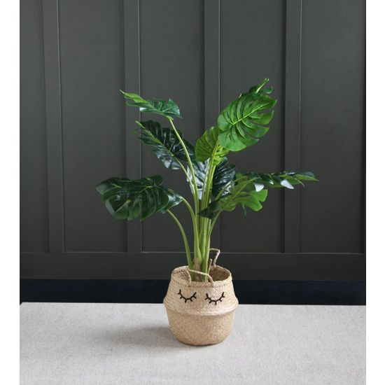 MONSTERA ARTIFICIAL PLANT TREE 120 CM