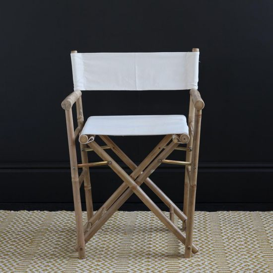Directors Chair / Natural / Bamboo
