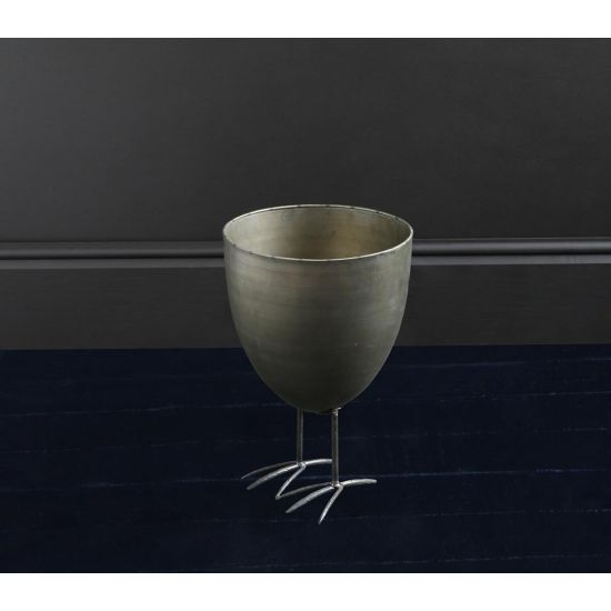 BIRD FEET PLANTER IN BRONZE (Small)