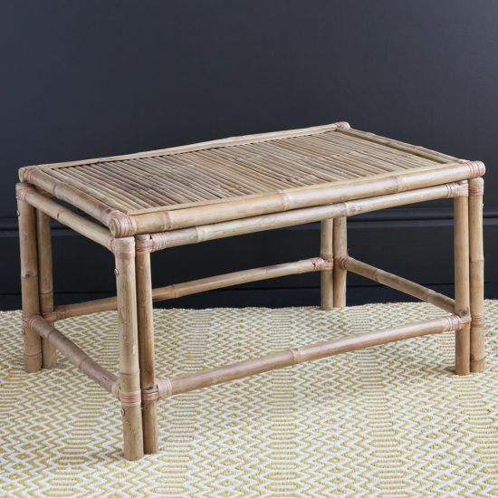 THE BAMBOO COFFEE TABLE