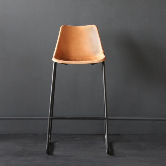 Road House Bar Stool, Tan, 75cm
