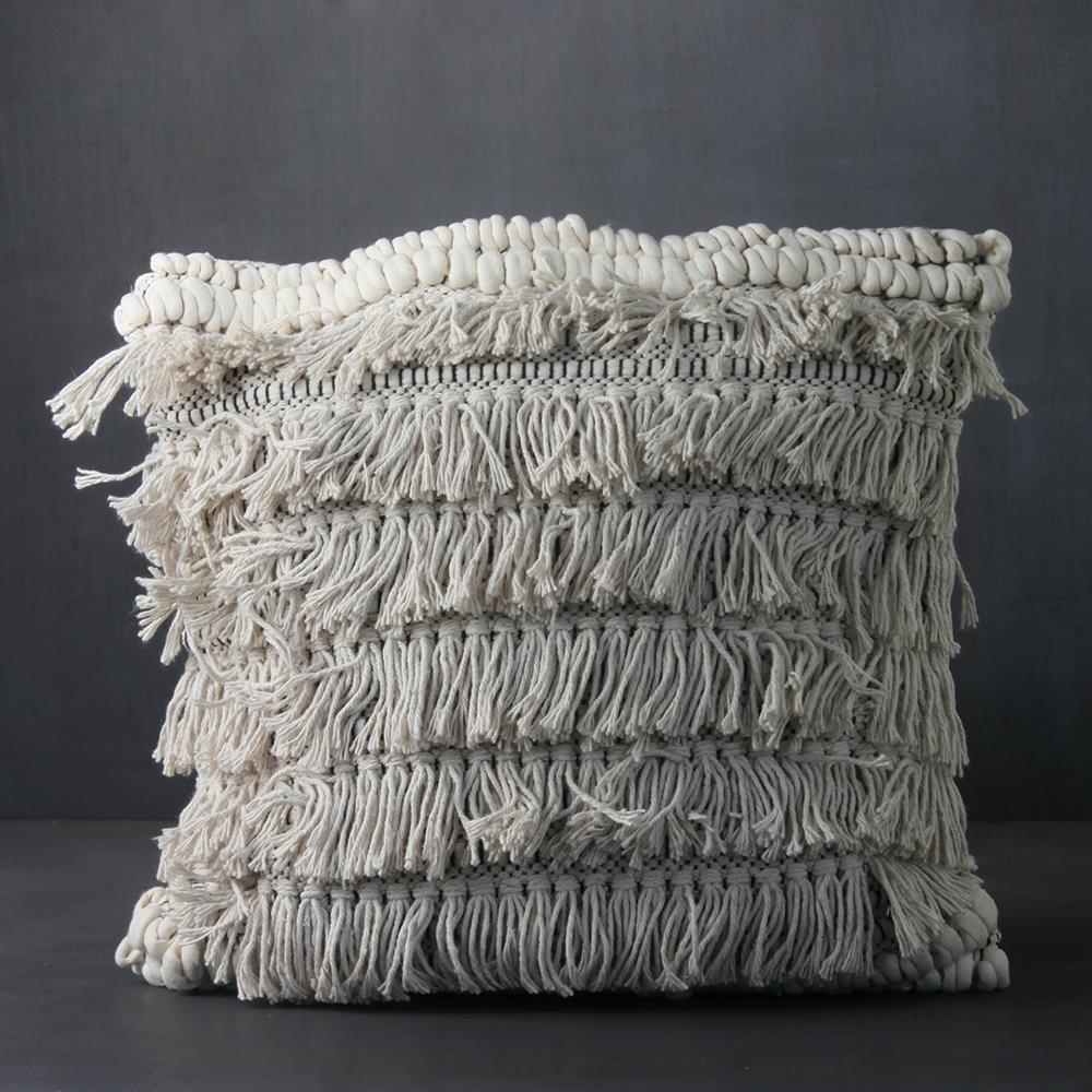 Sasha Fringed Cushion