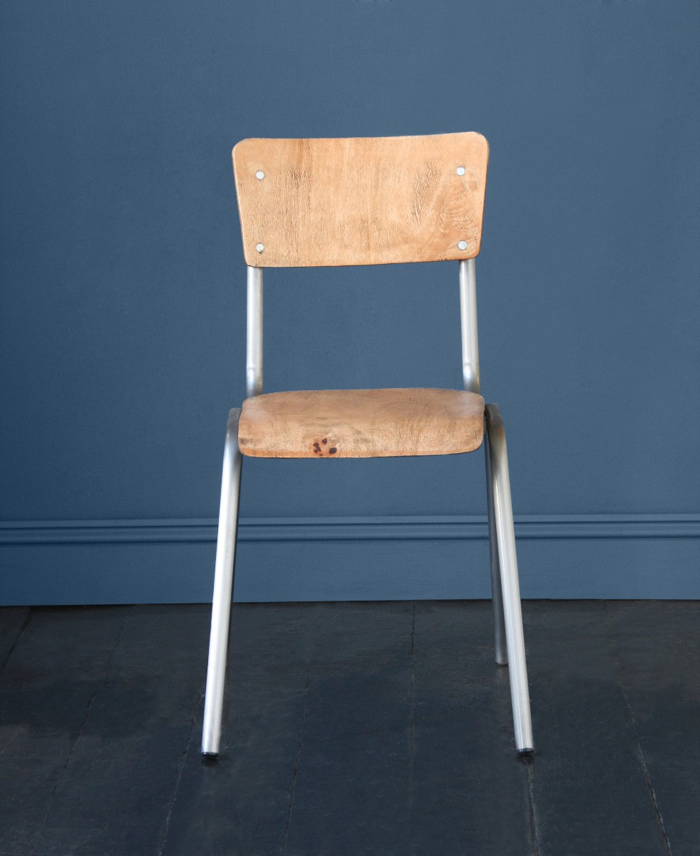 School Stacking Side Chair
