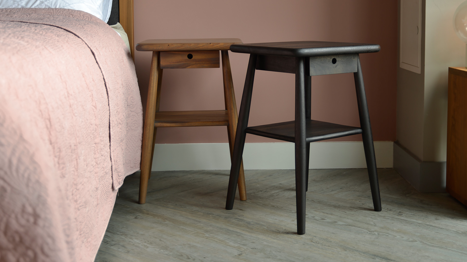 Shaker style bedside tables are always a winner.