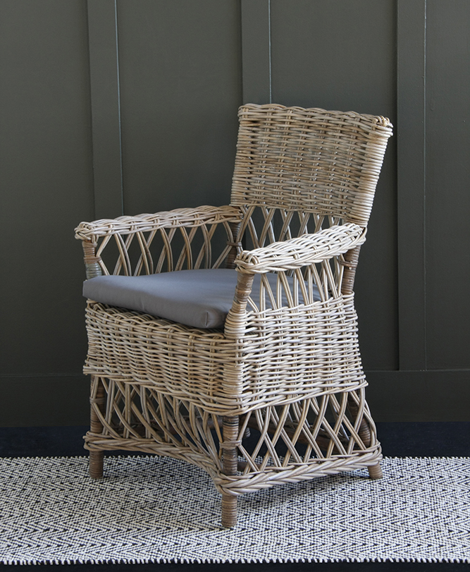 Bohemian fans will love our High Back Dining Chair.